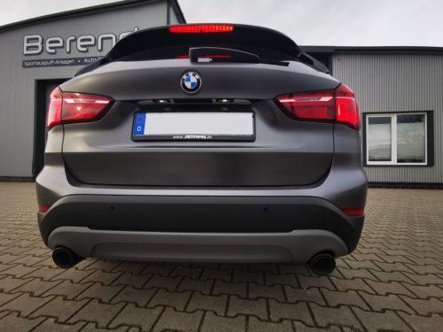 BMW X1 F48 Carbon Endrohr